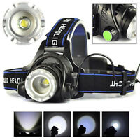12000LM XM-L XML T6 LED Headlamp Headlight flashlight 18650 head light lamp PT