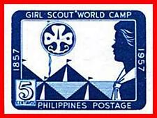 PHILIPPINES 1957 GIRL SCOUTS imperforated SC#637a  MNH  (D01)