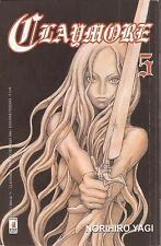 Manga - CLAYMORE 5 - Norihiro Yagi - STAR COMICS - NUOVO - D3