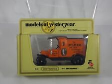 MATCHBOX LESNEY MODELS OF YESTERYEAR Y-12 1912 MODEL T HOOVER