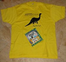 When the Dinosaurs Lived by Jonathan Shelly (1989, HC) 1st Edition plus Shirt