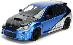 1:24 Jada Fast & Furious - Brian's Subaru Impreza WRX STI #99514 Diecast Model