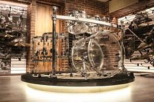 Pearl Crystal Beat 5-piece Ultra Clear Drum Set (10-12-14-16-22) - Demo!