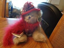 Bearington Bear Collection  Red Hat Society DUCHESS of PLUME No 1851