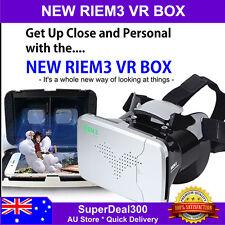 RIEM3 VR Box 3D 360 deg Virtual Reality Glasses