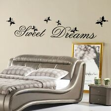 WALL ART BEDROOM VINYL DECOR STICKER HOME DECAL Mural Removable SWEET DREAMS
