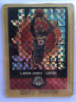 2019-20 Panini Mosaic LeBron James Jam Masters Silver Prizm SP Lakers PSA READY