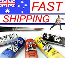 Winsor & Newton Winton Oil 37ml x 5 tubes colour choice - Free Brush