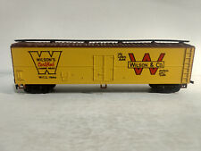 Rare Wilson's Certified Canned Meats W,C,C,7524 Box Car In HO Scale Train tr466