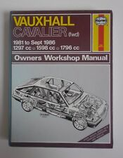 HAYNES VAUXHALL CAVALIER 1981 TO 1986 MANUAL PUBLISHED 1986 new sealed