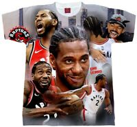 Kawhi Leonard Collage Shirt. Adult and Youth Sizes. Raptors T-shirt. Kawhi Toron
