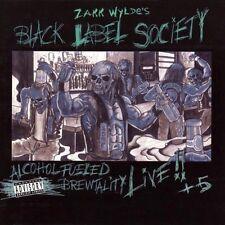 BLACK LABEL SOCIETY - ALCOHOL FUELED BREWTALITY-LIVE!!  2 VINYL LP NEUF