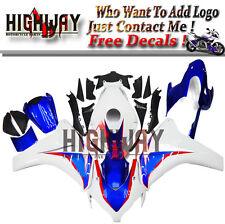 Fairings For Honda CBR1000RR 08 09 10 11 ABS Fairing Kit Bodywork HRC Blue White