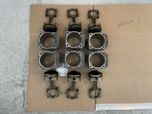 Porsche 993 911 Engine Cylinder Piston Rod Set (6)