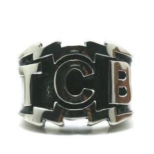 Ring Elvis Presley Concert TCB Stainless Steel Elegant Silver Tone HipHop S 7 15