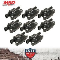 VE Holden Commodore L76 L77 L98 6lt V8 MSD Performance Ignition Coils x 8 Black