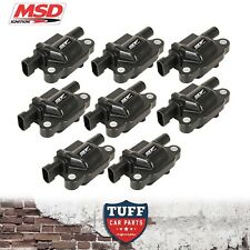 VE VF Holden HSV LS3 6.2lt V8 MSD Performance Ignition Coils x 8 Coil Set Black
