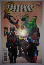 Champions #1 1:1000 Hawthorne Deadpool Variant NM 9.6/9.8 RARE 2016 Marvel