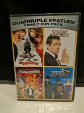 Big Fat Liar Johnny English Thunderbirds Rocky Bullwinkle DVD New Free Ship