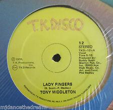 "Tony Middleton ~ Lady dedos ~ 12"" de un USA Press"