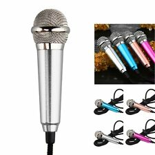 3.5mm Jack Mini Microphone Mic for iPhone Andriod PC Laptop Notebook MSN Skype