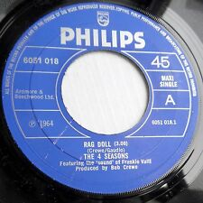 4 SEASONS 3song UK PHILIPS 45 RAG DOLL LET'S HANG ON I'VE GOT YOU UNDER MY F2744