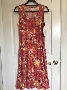 NWT LuLaRoe Summer Dress, Floral Print- Size Large