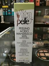 PEELING Acido MANDELICO 30%- ACNE Viso RUGHE esfoliante SMAGLIATURE macchie 30ml