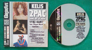 CD Compilation Groove Sampler #05 2Pac Kelis Shocca Inoki Rap Hip Hop no lp (C2)