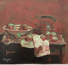Earl Mayan Oil Painting