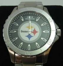 Last One  PITTSBURGH STEELERS Men's NFL LICENSED WATCH Jack Mason, 6-Time CHAMPS