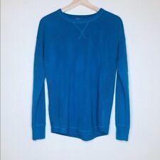 Sweet Romeo Long Sleeve Blue Pullover Sweater - Size Medium