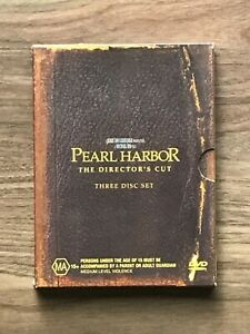 Pearl Harbor The Directors Cut Limited Edition DVD 3-Disc Set