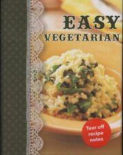 NEW BOOK Shopping Recipe Notes-Easy Vegetarian by Lorena Susak