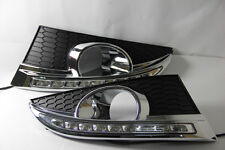 Car LED DayTime Running Light REPLACEMENT FOG GRILLE For Chevrolet Chevy Captiva