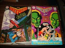 Unexpected 105-139 plus 7 more----lot of 32 comic books