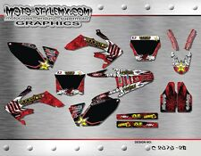 Honda graphics CRf 250R 2006 up to 2009 graphics decals sticker kit Moto StyleMX