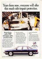 1993 Buick Regal Sedan - safety - Classic Vintage Advertisement Ad D05