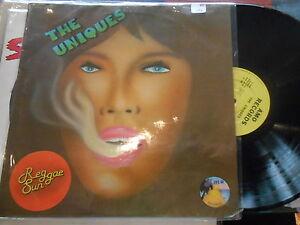 THE UNIQUES reggae sun AMO RECORDS FRANCE 67477 EXC