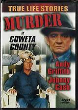 Murder in Coweta County (DVD, 2001) Andy Griffith Johnny Cash BRAND NEW