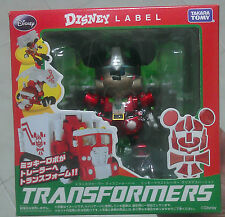 Brand New Transformers Disney Label Mickey Mouse - METALLIC PAINT X'MAS Edition