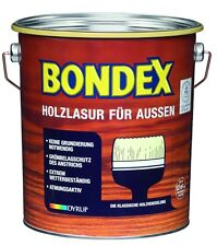 BONDEX Holzlasur für Au�Ÿen 4,0 L Rio Palisander FR�œHJAHRSAKTION NEUWARE