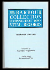 Barbour Collection Connecticut Town Vital Records Vol. 46 Thompson 1785-1850