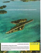PUBLICITE ADVERTISING 015  2004  LA POSTE  confiance  et avenir 2