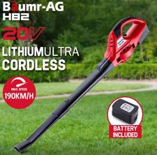 20V Cordless Electric Leaf Blower Lithium-ion Battery Handheld Leaf Blower