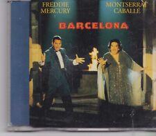 Freddie Mercury&Montserrat Caballe-Barcelona cd maxi single
