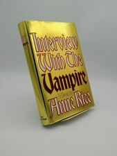 Interview with the Vampire by Anne Rice (Borzoi Hardcover • 1992 • 2nd Print)
