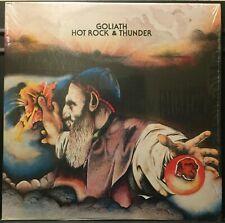 Goliath Hot Rock & Thunder IN SHRINK USA 1975 LP Rock/Psych/Prog