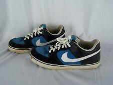Nike 6.0 Skateboarding Sneaker Shoes Size 11 Navy Blue & Baby Blue