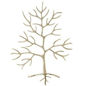 Dekoaufsteller Levanto Baum H 110cm Aluminium gold BOLTZE
